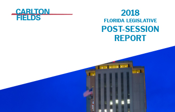 2018 Florida Legislative Post Session Report