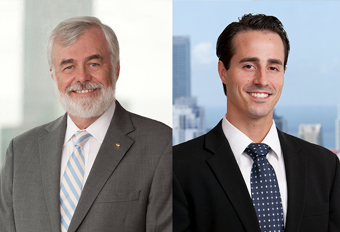 Carlton Fields' Benjamine Reid and Steven Blickensderfer Earn Professional Excellence Awards