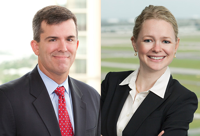 Carlton Fields Attorneys Garth T. Yearick and Ashley C. Drumm Recognized for Service to FBA Chapter