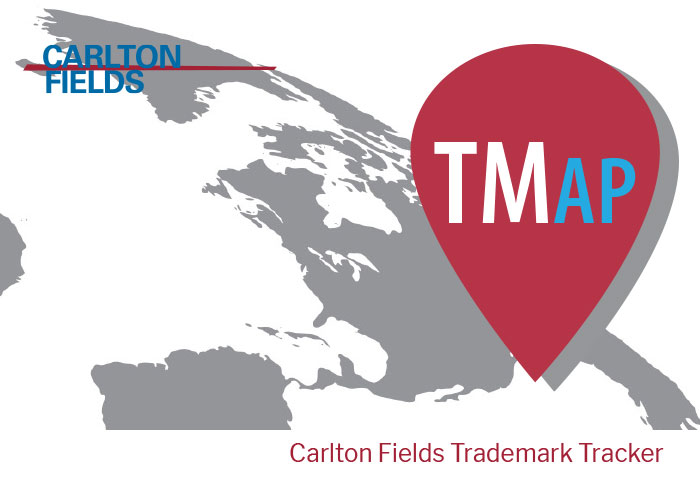 Carlton Fields' TMap Tool Featured in Media
